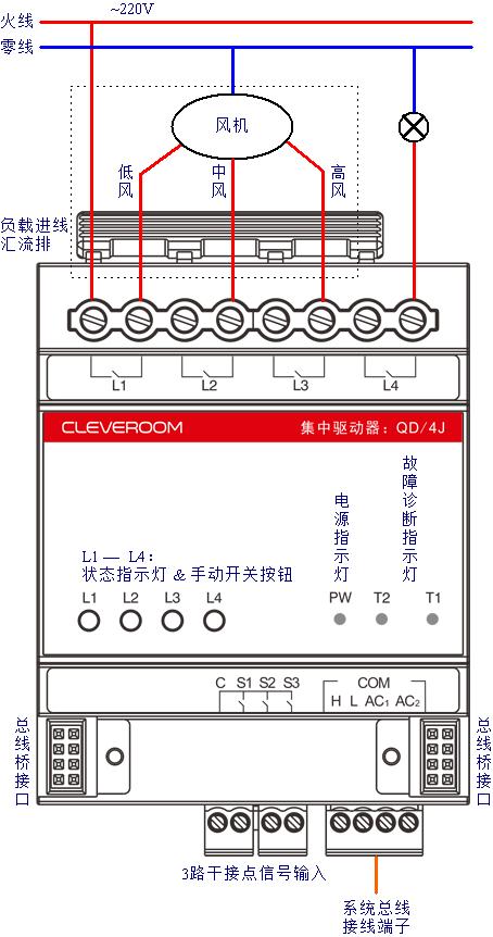 -qd/4k)接线方法